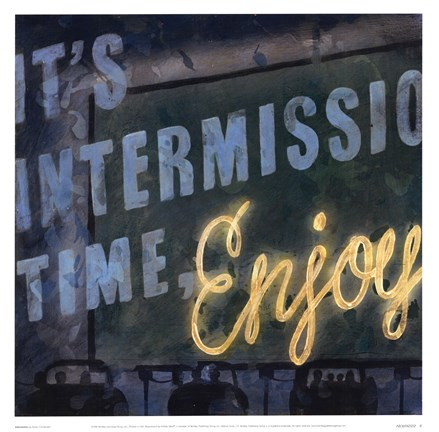 Framed Intermission Print
