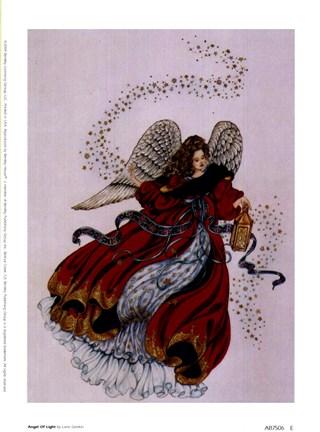 Angel Of Light Fine Art Print By Laine Gordon At