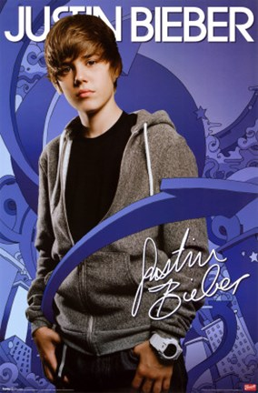 Justin Bieber - Arrows Wall Poster by Unknown at FulcrumGallery.com