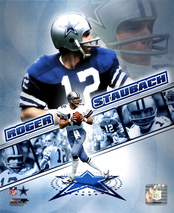 Roger Staubach 2010 Portrait Plus Fine Art Print By