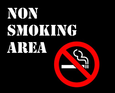 Non Smoking Area Fine Art Print By Unknown At