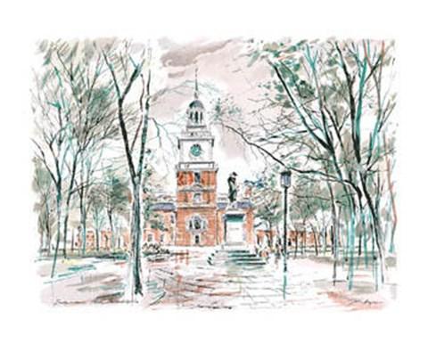 Independence Hall, Philadelphia, PA. Fine Art Print by John Haymson ...