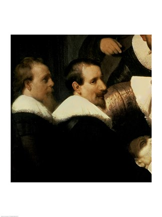 The Anatomy Lesson Of Dr Nicolaes Tulp 1632 Left Detail Fine Art