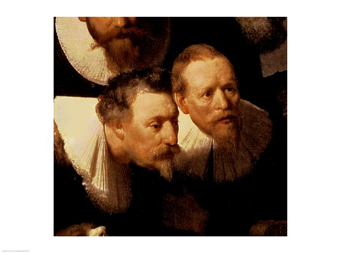 The Anatomy Lesson Of Dr Nicolaes Tulp 1632 Two Viewers Detail