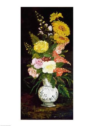 Vase Of Flowers 1886 Fine Art Print By Vincent Van Gogh At