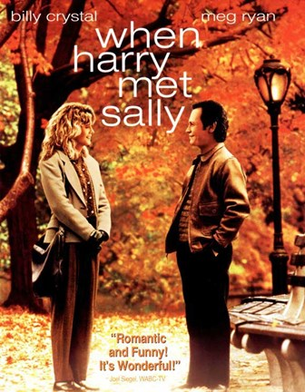 Framed When Harry Met Sally - Billy Crystal Print