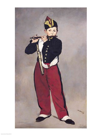 The Fifer 1866 Fine Art Print By Edouard Manet At