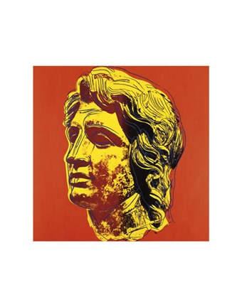 Framed Alexander the Great, 1982 (yellow face) Print