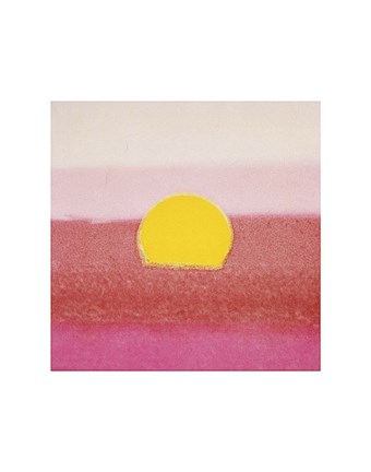 Framed Sunset, 1972 40/40  (pink) Print