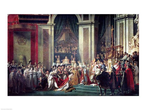 Framed Consecration of the Emperor Napoleon II Print