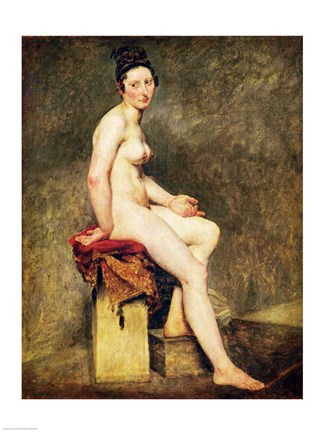 0c76607f5c8 Framed Seated Nude