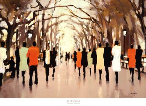 Poets Walk Fine Art Print By Lorraine Christie At