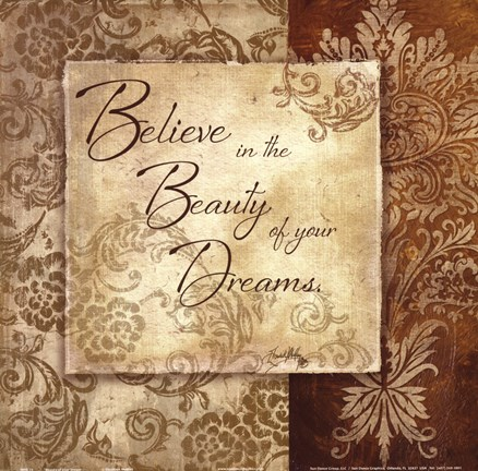Framed Beauty of your Dreams Print