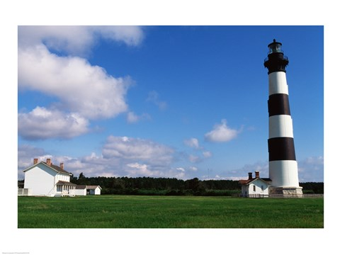 Framed Bodie Island Lighthouse Cape Hatteras National Seashore North Carolina USA Print