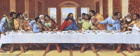 Black Last Supper Fine Art Print By Mark Tobey At Fulcrumgallerycom