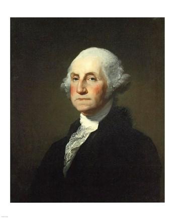 photo regarding Printable Pictures of George Washington referred to as Gilbert Stuart Williamstown Portrait of George Washington