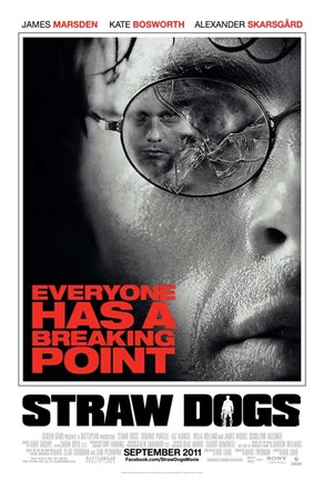 Framed Straw Dogs Breaking Point Print