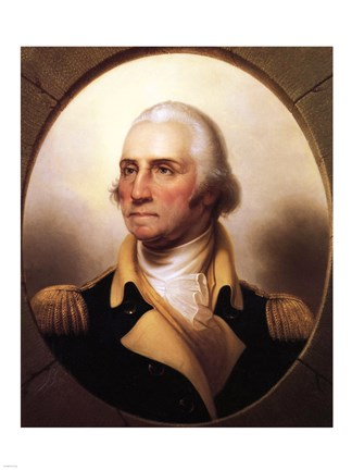 picture about Printable Pictures of George Washington named Portrait of George Washington