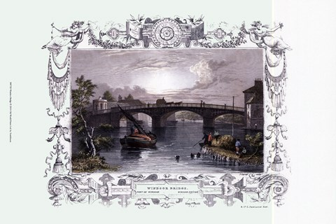 Framed Windsor Bridge Print