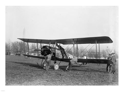 Framed Allied Aircraft Before Flight Print