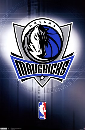 Framed Mavericks - Logo 11 Print