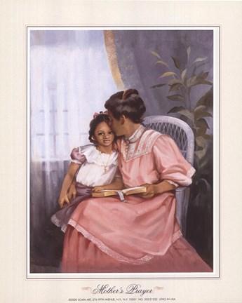 Framed Mother's Prayer Print