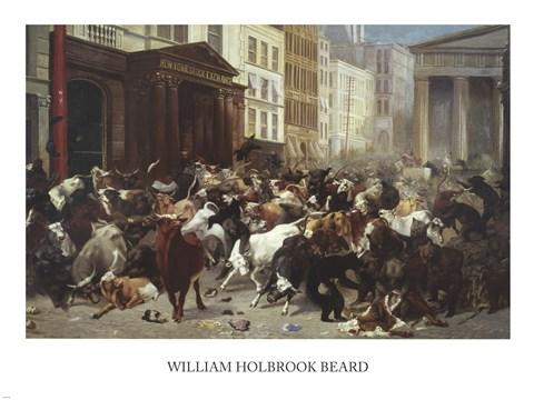 William Holbrook Beard Wall Street Bulls Bears