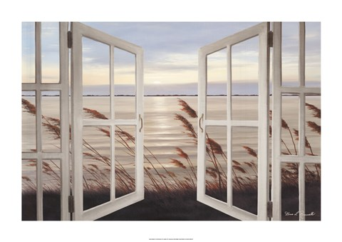Framed Salt Air Breeze Print