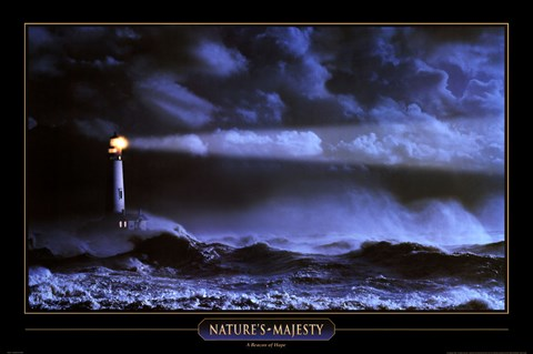 Beacon Of Hope Nature S Majesty Fine Art Print By Unknown