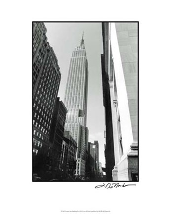Framed Empire State Building II Print