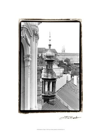 Framed Splendors of Prague I Print