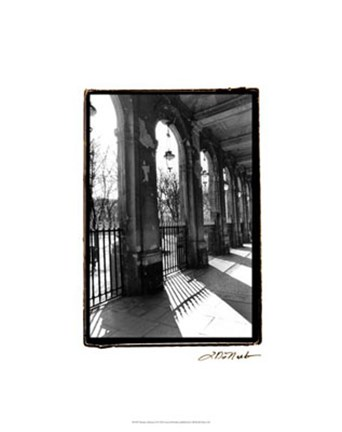 Framed Parisian Archways II Print