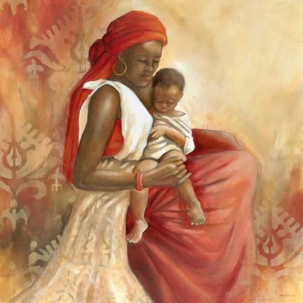 Beauty Of Love I Fine Art Print By Carol Robinson At
