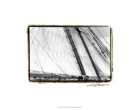 Framed Under Sail III Print