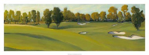 Framed Golf Scene IV Print