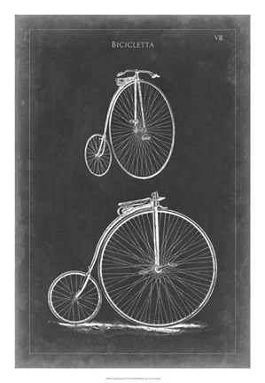 Framed Vintage Bicycles II Print
