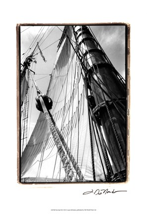 Framed Set Sail III Print