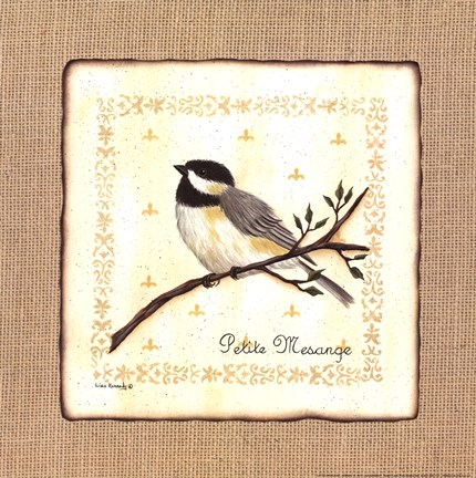 Framed Little Chickadee II Print