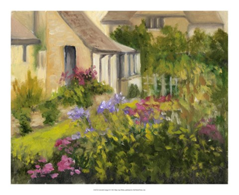 Framed Cotswold Cottage II Print