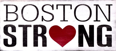 Framed Boston Strong Print
