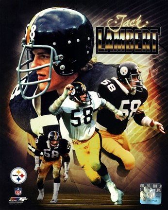 Framed Jack Lambert 2013 Portrait Plus Print