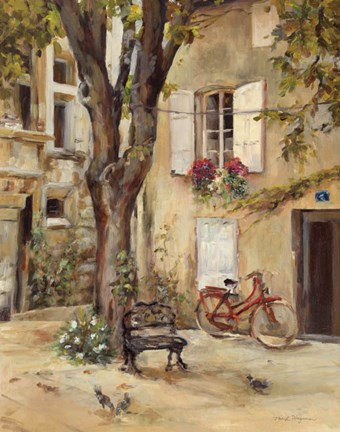 Provence Village I Fine Art Print By Marilyn Hageman At