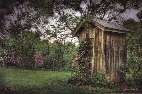 Framed Fragrant Outhouse Print