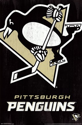 Framed Pittsburgh Penguins® - Logo13 Print