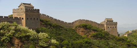 Framed Great Wall of China, Jinshangling, Hebei Province, China Print