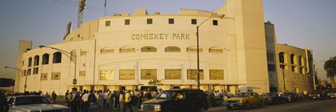 Framed Facade of a stadium, old Comiskey Park, Chicago, Cook County, Illinois, USA Print