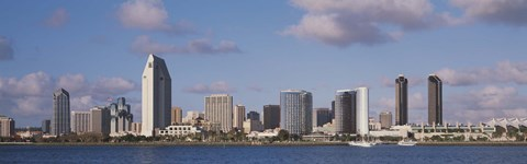 Framed Buildings in San Diego, California Print