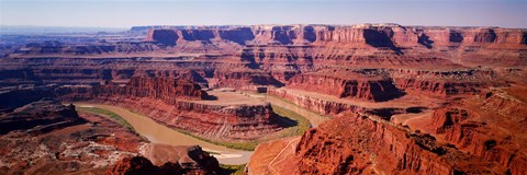 River flowing through a canyon, Canyonlands National Park, Utah, USA by Panoramic Images