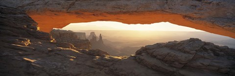 Framed Mesa Arch, Canyonlands National Park, Utah USA Print