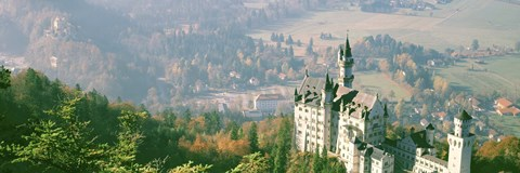 Framed Neuschwanstein Castle Schwangau Bavaria Germany Print